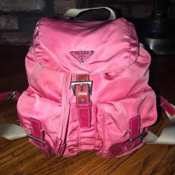 cf47e38538e6 Bubblegum pink Prada backpack. M_5b4e68481b16dbfb3b666d0a